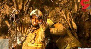 این آتش نشان تازه داماد در پلاسکو گرفتار است / او وصیت کرد و رفت!