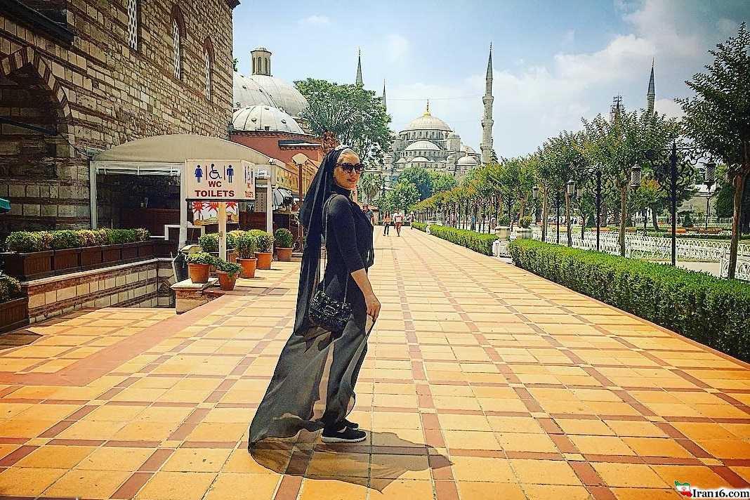 سحر قریشی در ترکیه با تیپ خفن+ عکس