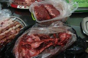 کشف گوشت گراز از بساط یک کبابی در رشت