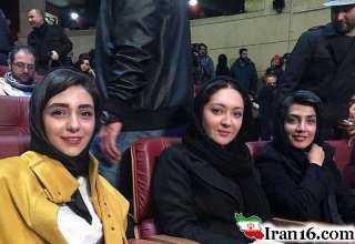 تیپ بازیگران در افتتاحیه سی و پنجمین جشنواره فیلم فجر