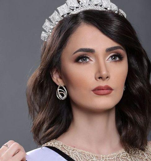 دختر ایرانی حاضر در مسابقات ملکه زیبایی 2017 + عکس