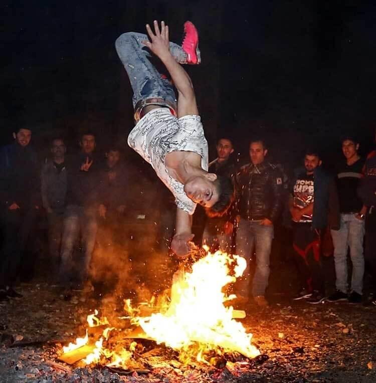 فیلم و عکس های جالب چهارشنبه سوری 95