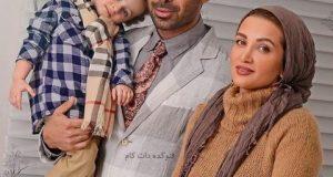 روناک یونسی در کنار خانواده اش + عکس