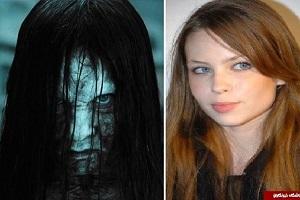 تصاویری کمتر دیده شده از چهره واقعی بازیگران فیلم های ترسناک