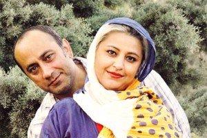 عکس عارف لرستانی در کنار همسرش