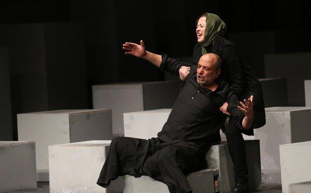 صحنه بلندکردن امیر جعفری توسط خانم بازیگر +عکس