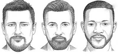 آقایان باید با توجه به فرم صورت خود مدل ریش و سبیل شان را انتخاب کنند