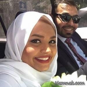 فریبا باقری مجری تلویزیون ازدواج کرد + تصاویر