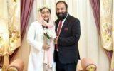 عکس دیده نشده مراسم عقد نرگس محمدی