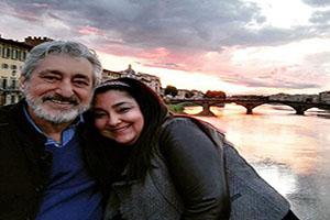 تبریک سالگرد ازدواج خواننده مشهور به همسرش (عکس)