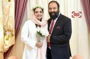 عکسهای مراسم عقد نرگس محمدی و همسرش علی اوجی