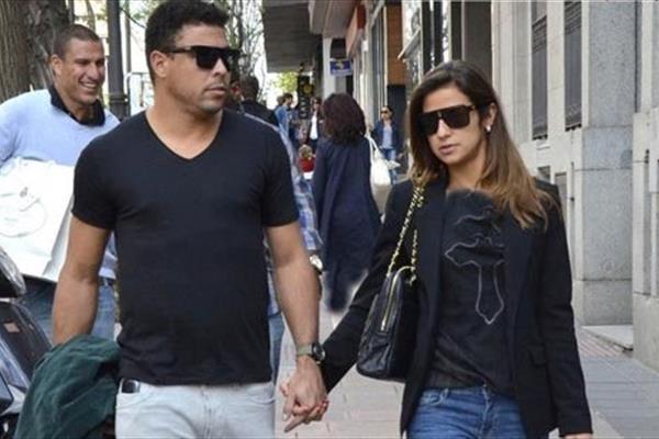 رونالدو و همسر جدیدش!