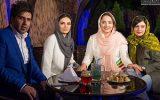 لیندا کیانی و نرگس محمدی در افتتاحیه رستوران الف