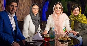 Linda Kiani and Narges Mohammadi in opening a restaurant