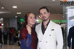 نهنگ عنبر2 باحضور مهناز افشار و همسرش, حسام نواب صفوی