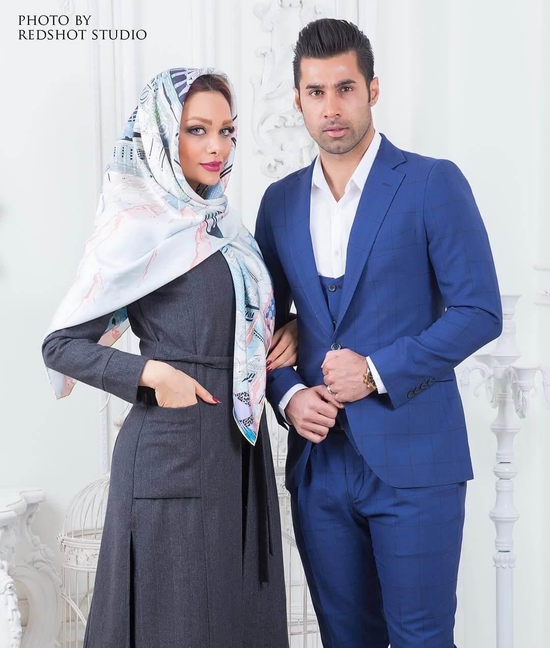 عکس های جنجالی همسر محسن فروزان نسیم که باعث محرومیتش شد