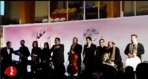 فیلم سقوط سالار عقیلی لحظه اجرا در آمل