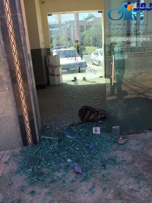 تروریستی که خود را منفجر کرد یک زن بود + عکس