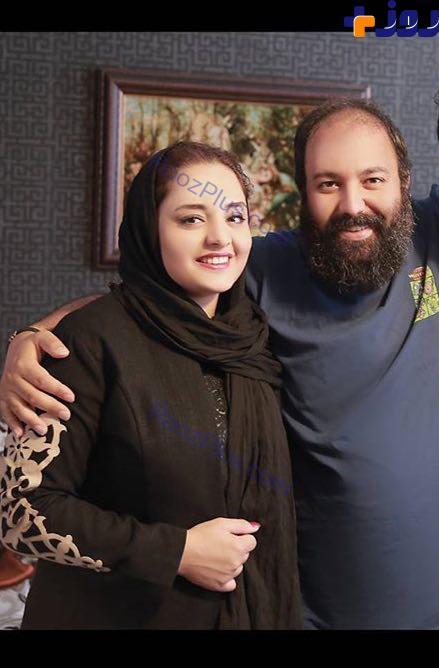 جدیدترین عکس از زندگی خصوصی نرگس محمدی و همسر معروفش
