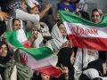 حجاب دختران ایرانی در دیدار ایران و بلژیک + عکس