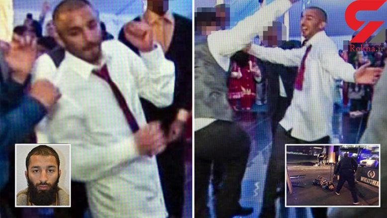 رقص+عامل+تروریستی+لندن+در+مراسم+عروسی+خواهرش