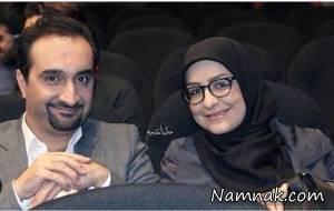 فیلم در آغوش گرفتن مجری زن و مرد ایرانی در برنامه زنده!
