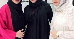بی حجابی پرستو صالحی بغل حدیث فولادوند/ عکس