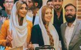 عکس لو رفته سحر قریشی و الهام عرب بغل یکدیگر! +تصاویر