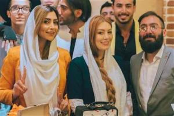 تیپ و چهره سحر قریشی و الهام عرب بغل یکدیگر! +تصاویر