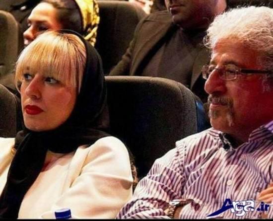 عکس دیده نشده علیرضا خمسه و همسرش