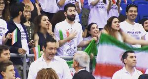 عکس های تماشاگران ایرانی لیگ جهانی والیبال 2017
