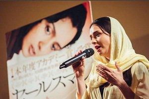 عکس های ترانه علیدوستی در ژاپن در برنامه نمایش فیلم هایش!