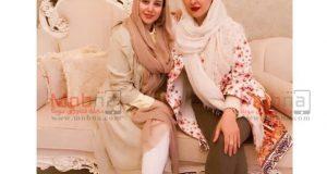 الناز حبیبی در سالن زیبایی/ عکس