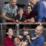 زندگی همزمان یک زن با دو شوهر! +عکس