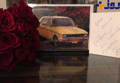 هدیه لاکچری سام درخشانی به همسرش (عکس)