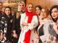 بی حجابی لیلا بلوکات, الهام حمیدی و الناز حبیبی در افتتاحیه سالن زیبایی! عکس