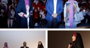 مژده لواسانی، مهران مدیری و آزاده صمدی در یک قاب | عکس