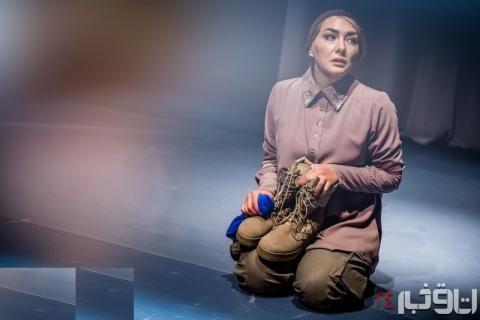 هانیه توسلی همسر یک سرباز آمریکایی+ عکس