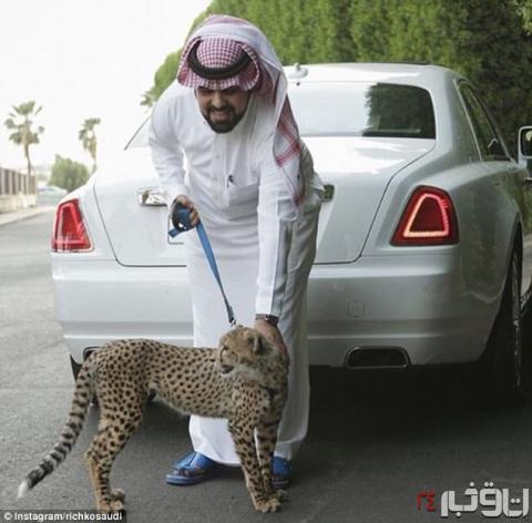 بچه پولدارهای عرب اینگونه زندگی میکنند! + تصاویر