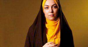 عکس بدون روسری آزاده نامداری ناگهانی یا عمدی !