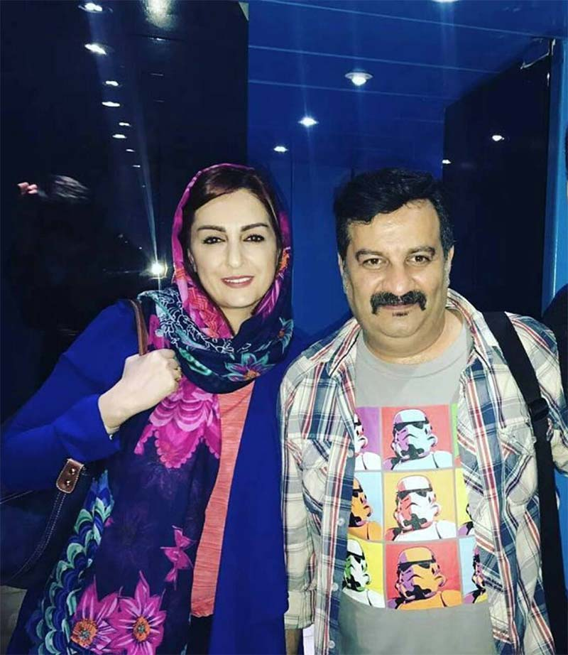 تیپ خفن مهراب قاسم خانی و همسرش + عکس