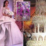 عروس خوشکل در گران ترین مراسم ازدواج تاریخ روسیه