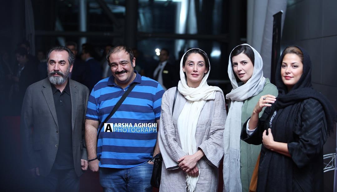 تیپ بدحجاب خانم های بازیگر در بغل مهران غفوریان و سیامک انصاری! + عکس