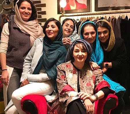 عکس بی حجابی بازیگران زن ایرانی