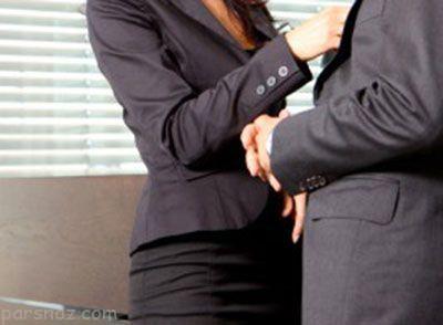 رابطه شرم آور دختر 23 ساله با مدیر شرکت