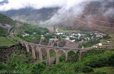 سفر به شمال ایران با قطار از مسیری زیبا