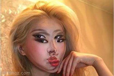 دختر هزارچهره زیبای کره ای +عکس