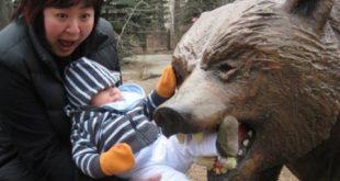 تصاویری از حملات مرگبار حیوانات به انسان ها +18