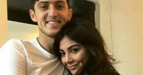 تصویر جنجالی سردار آزمون و ملیکا نجفی زاده دختر مدل ایتالیایی + عکس ها