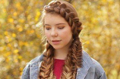 بافت مو زنانه 2018 |بهترین و جذاب ترین مدل های دخترانه بافت مو 97
